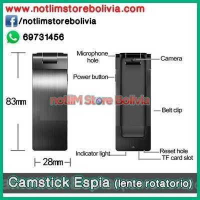 Camstick Espia HD con lente rotatorio 45° - Precio: 350Bs