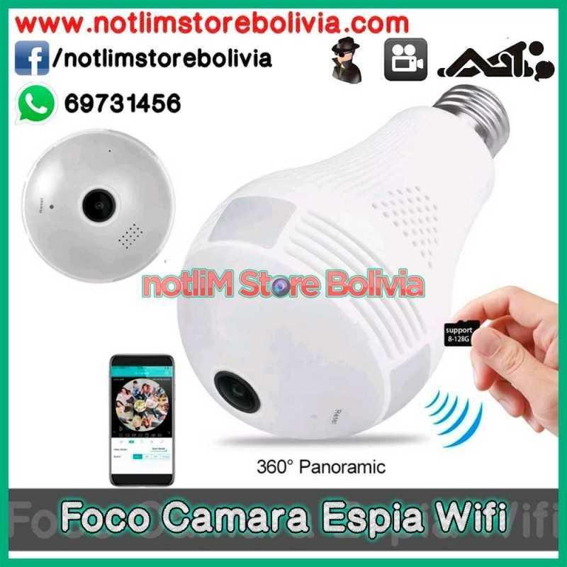 Foco Camara Espia 360º - Precio: 300Bs