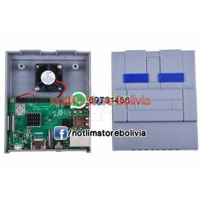 Case Raspberry Pi 3 Tipo Super Nintendo - Precio: 200Bs