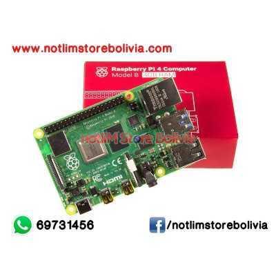 Kit Raspberry Pi 4 Modelo B (4GB RAM) - Precio: 800Bs