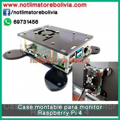 Case montable para Monitor (Raspberry Pi 4) - Precio: 100 Bs